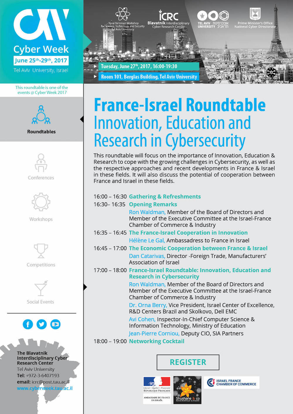 France Israel Roundtable2c June 272c 2017
