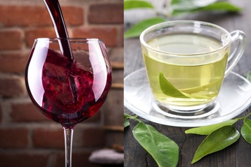 tea or wine